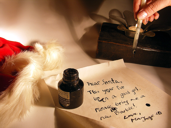 Egan Associates' Santa Letter